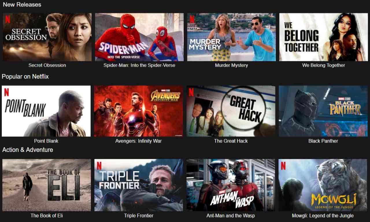 movies on nettflix