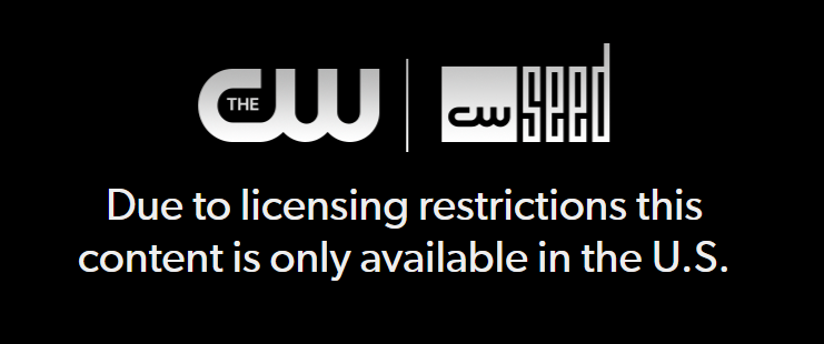 watch the CW outside US