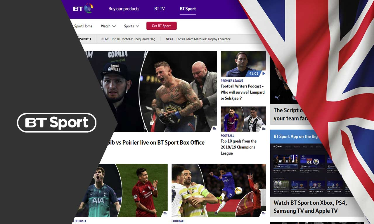 How to Watch BT Sport Outside the UK in 2021 Easy Guide