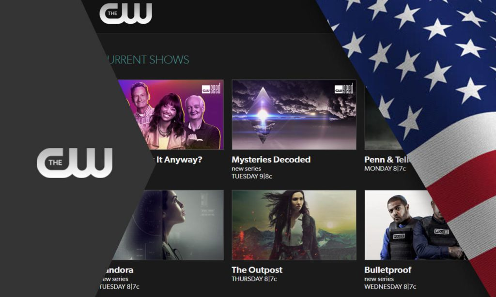 How to Watch The CW Outside US with VPN