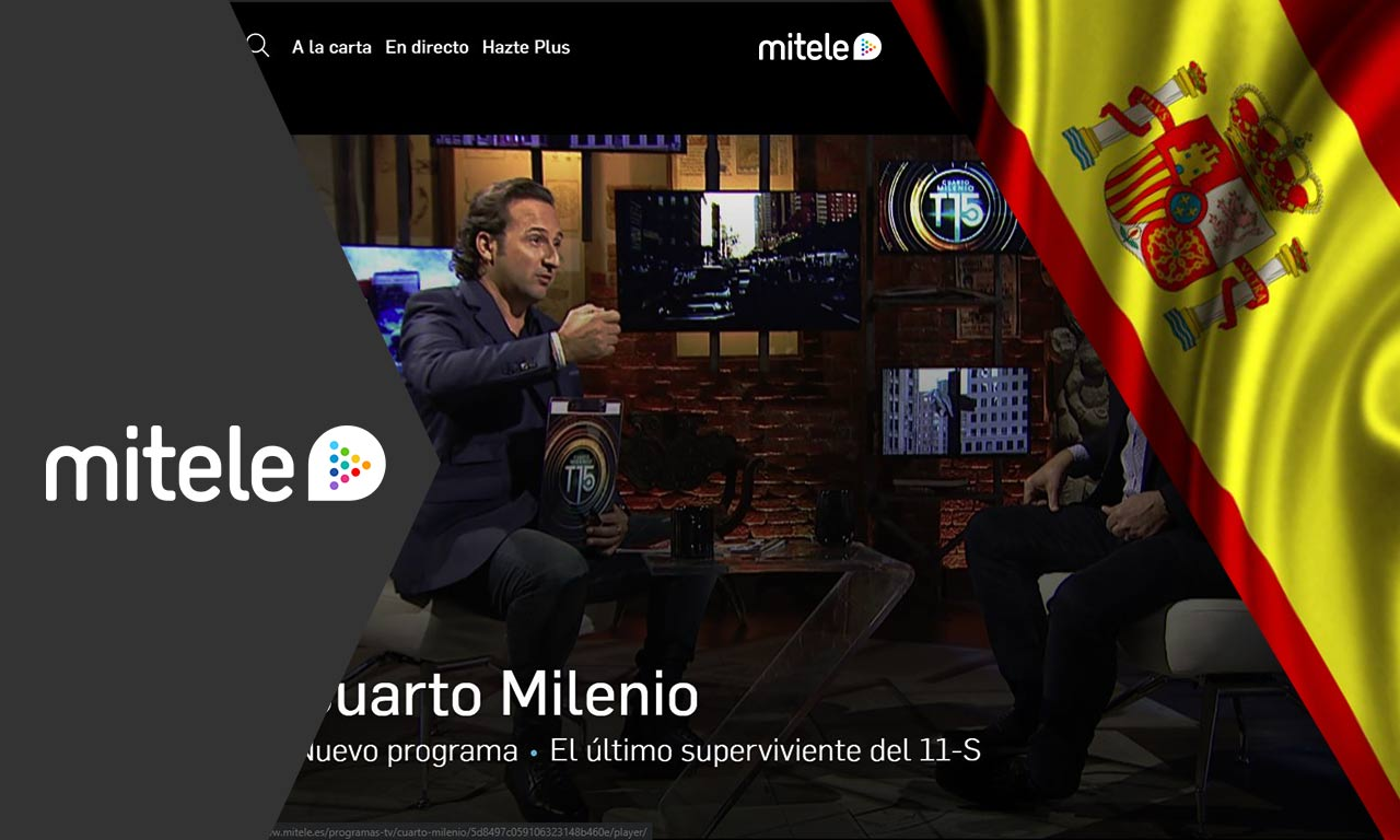 How to Watch Mitele outside Spain from Anywhere