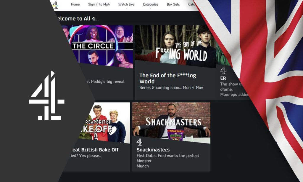 How To Watch Channel 4 Outside The Uk In 2020 Easy Guide Screenbinge