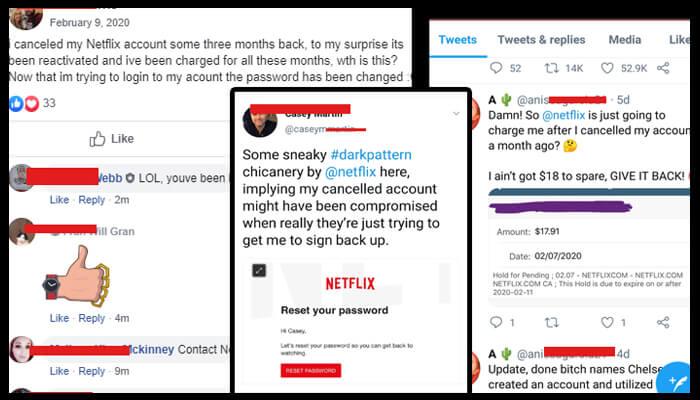 Netflix hacked accounts